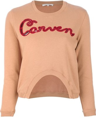 Carven 'Molleton' embroidered sweater