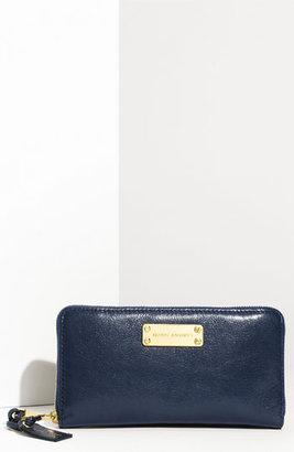 Marc Jacobs 'Wellington Deluxe' Goatskin Wallet