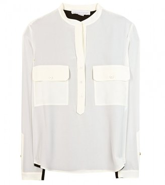 Stella McCartney Estelle Two-tone silk blouse