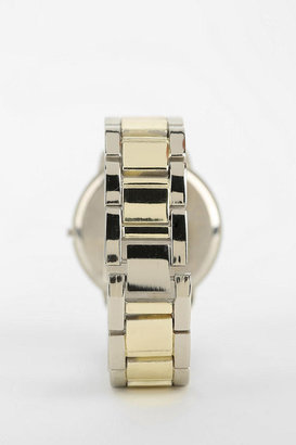 Urban Outfitters Two-Tone Sports Bracelet Watch