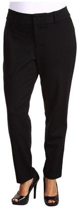 MICHAEL Michael Kors Plus Size Ponte Ankle Pant in Black (Black) - Apparel