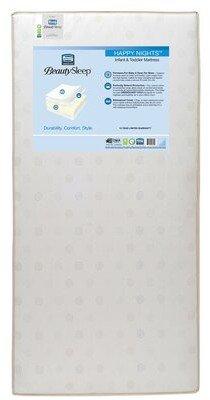Simmons Beauty Sleep Waterproof Standard Crib Foam