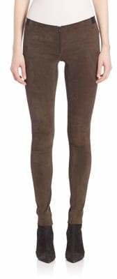 Alice + Olivia Suede Legging Pants
