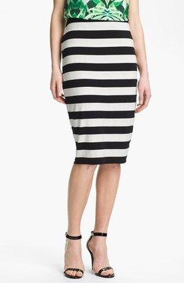 Vince Camuto Midi Tube Skirt (Regular & Petite) Light Cream X-Small P
