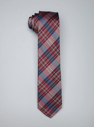 Ben Sherman Herringbone Plaid Tie