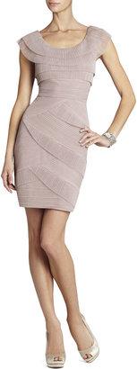 BCBGMAXAZRIA Briana Short Pleated Dress