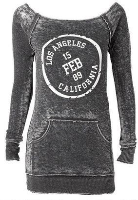 Alloy Jesse & J LA Stamp Burnout Sweatshirt