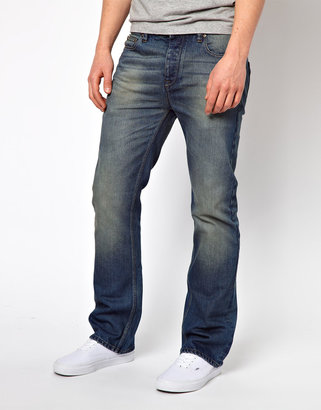 Asos Bootcut Jean In Mid Wash
