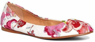 Floral Canvas Ballet Flats $168 thestylecure.com