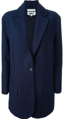 Maison Martin Margiela buttoned blazer coat