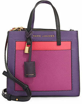 Marc Jacobs Grind Mini Leather Tote Bag