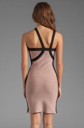 Stretta Kesha Asymmetrical Dress