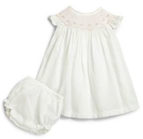 Kissy Kissy Infant's Smocked Dress & Bloomers Set