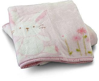 Carter's Bunny Snoozy Snug Baby Blanket