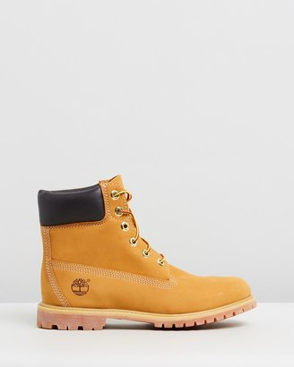 Timberland Womens 6-Inch Premium Lace Up Boots