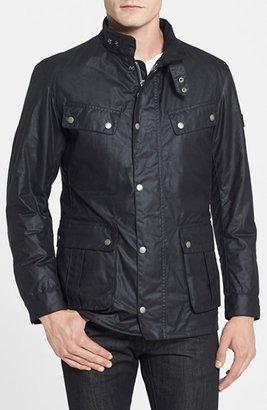 Men's Barbour 'Duke' Regular Fit Waterproof Waxed Cotton Jacket $399 thestylecure.com