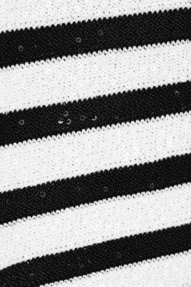Oscar de la Renta Sequined knitted sweater
