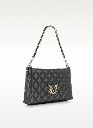 Moschino Quilted Eco Leather Shoulder Bag