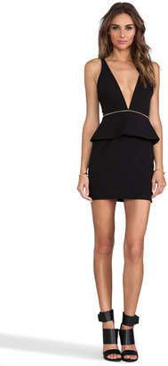 Bec & Bridge BEC&BRIDGE Christie Peplum Mini Dress
