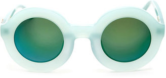 WILDFOX Women's Twiggy Deluxe Round Acetate Frame Sunglasses $189 thestylecure.com