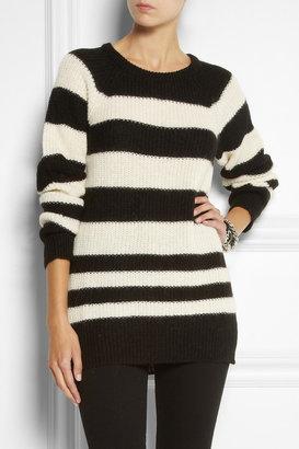 IRO Barbara striped knitted sweater