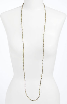 Nordstrom 'Sand Dollar' Extra Long Bead Necklace