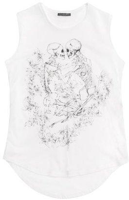 Alexander McQueen Love Skeletons Rock Vest