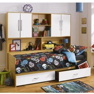 Kidspace Arizona Kids Single Bed + Over-bed Unit