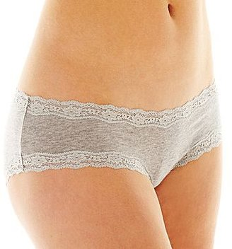 JCPenney Flirtitude® Spring Lace Trim Hipster Panties