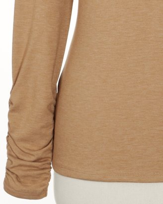 Coldwater Creek PrimaKnitTM ruched tee