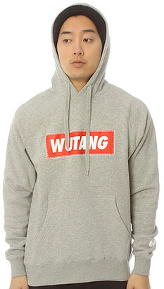 Wutang Brand Limited The Wutang Box Pullover Hoody in Heather