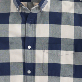 J.Crew Vintage oxford shirt in navy gingham