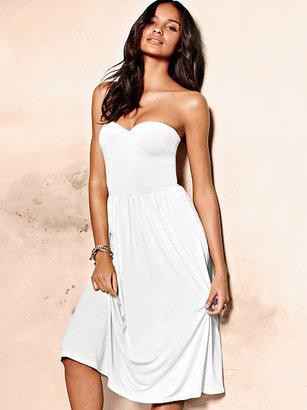Victoria's Secret Strapless Push-up Bra Top Dress