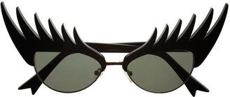 Tatty Devine Black Eyelashes Sunglasses