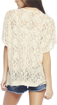Wet Seal Lace Back Wrap