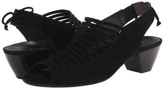 Paul Green Trisha (Black Suede) High Heels