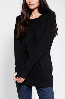 Sparkle & Fade Pullover Tunic Sweatshirt