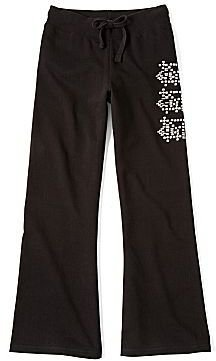 Flowers by Zoe by Kourageous Kids Studded French Terry Pants - Girls 6-16