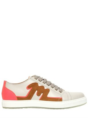 Marc Jacobs Leather & Suede Sneakers