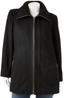 Apt. 9 wool-blend coat - women's plus
