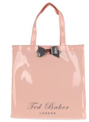 Ted Baker Women's Bigcon Nude Pink Bow Shopper Bag