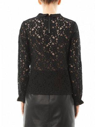 Sea Pizval lace blouse