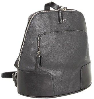 Tumi Villa - Rimini Slim Zip Backpack (Black) - Bags and Luggage