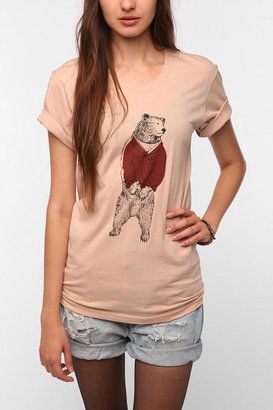 UO Isabel Sicat for RISD + Bear In A Jacket Tee