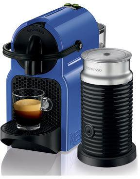 Nespresso by Delonghi EN80BLAE Inissia Capsule Coffee Maker: Blueberry