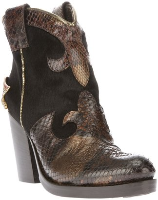 Baldan heeled cowboy boot
