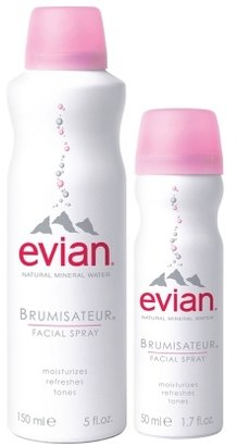 Evian Spray Brumisateur Mineral Water + Travel-Size