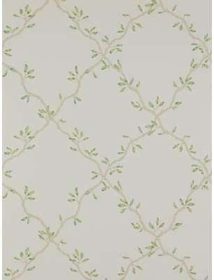 Colefax & Fowler Leaf Trellis Wallpaper