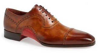 Men's Magnanni 'Cris' Cap Toe Oxford $495 thestylecure.com