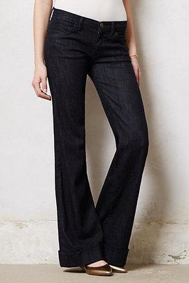 Current/Elliott Wide-Leg Jeans